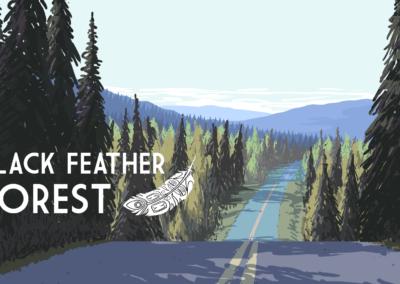 Black Feather Forest