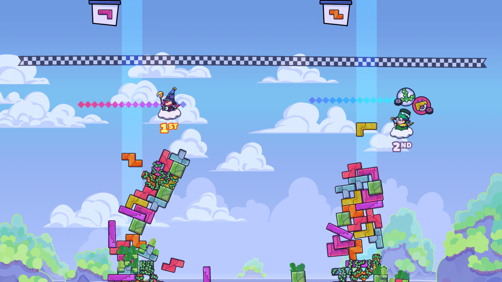 Trick Towers 4