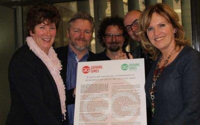 E-health manifest van Growing Games Cure & Care goed ontvangen door Pia Dijkstra