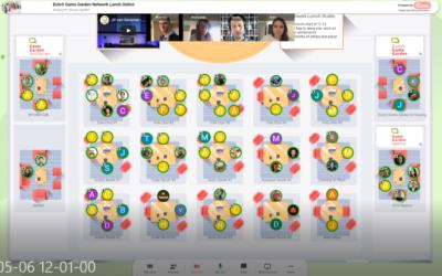 Dutch Game Garden's first online Network Lunch