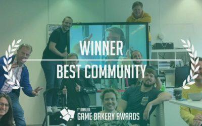 Dutch Game Garden wins Game Bakery' Best Community Award